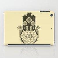 hamsa iPad Cases featuring Hamsa by Joel Amat Güell