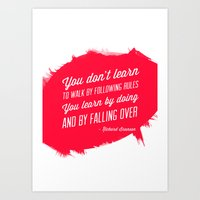 Richard Branson success quote Art Print