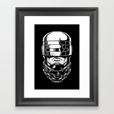 Hey, Robocop! Framed Art Print