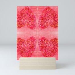 Heart of gold Mini Art Print