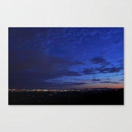 Tucson, AZ @Dusk Canvas Print
