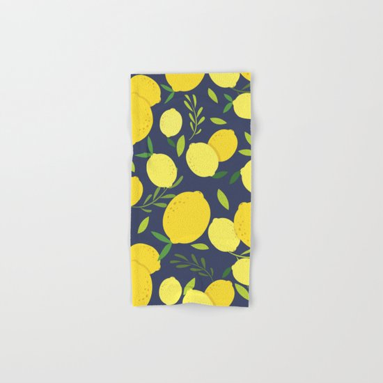 Freshly Picked Lemon Hand & Bath Towel