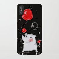 mouse iPhone & iPod Cases featuring mouse  by Katja Main