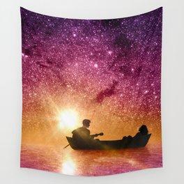 Serenade in the night Wall Tapestry