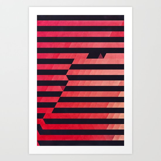 slyg stryyp Art Print