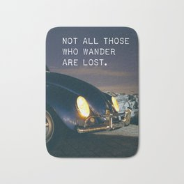 Great quote for travellers Bath Mat