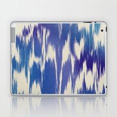 Ikat Splash: Blue Multi Laptop & iPad Skin