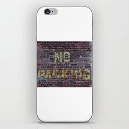 No Parking iPhone Skin