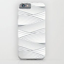 Smooth Japanese Wave iPhone Case