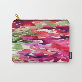 hydrangea red flowers Carry-All Pouch