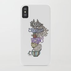 Owlice Wants Another Cup of Tea Slim Case iPhone X