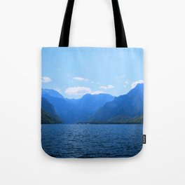 Koenigssee Lake with Alpes Mountains 2 Tote Bag