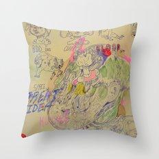 great idea kira Throw Pillow