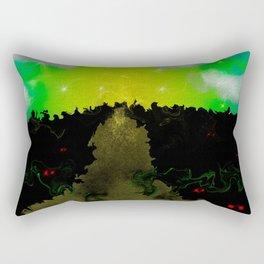 The Journey Through the Mind Rectangular Pillow