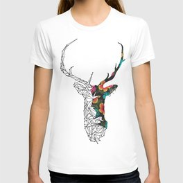 STAG FLORAL T-shirt