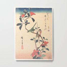 Oriental Songbirds  Metal Print