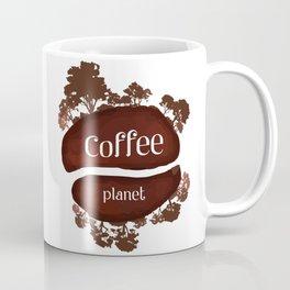 Welcome to the Coffee planet - I love Coffee Coffee Mug