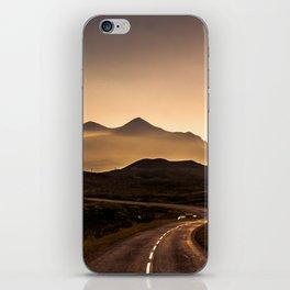 Sunset Mountain Road iPhone Skin