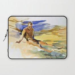 12,000pixel-500dpi - John Singer Sargent - Bather, Florida - Digital Remastered Edition Laptop Sleeve