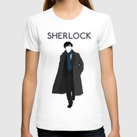 johnlock T-shirts featuring Sherlock Holmes by Amélie Store