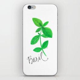 Basil Garden Art iPhone Skin