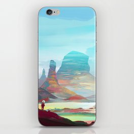 On another planet 2 iPhone Skin