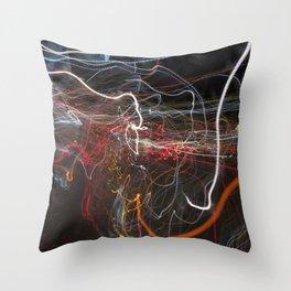 City Lights 3 Throw Pillow