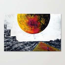 Come On A Journey With Me Canvas Print
