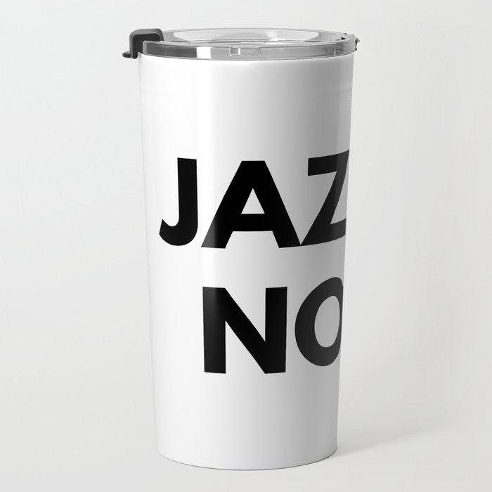 Jazz Is Noise Travel Mug