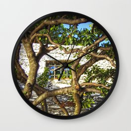 Finestra a Nervi Wall Clock