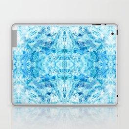Crystal Stone - In Teal Aqua & Blue Laptop & iPad Skin