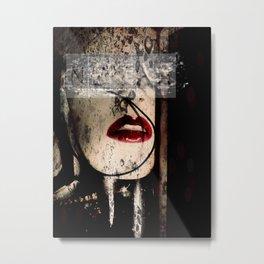 Bleeding Artisan Metal Print