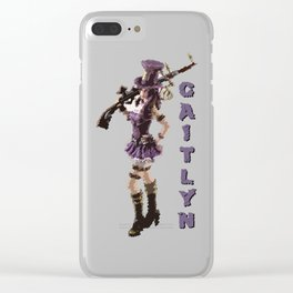 Caitlyn - League of Legends [marker sketch] Clear iPhone Case