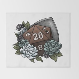 Paladin Class D20 - Tabletop Gaming Dice Throw Blanket