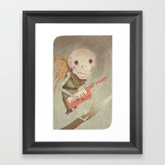 Little Guy Framed Art Print