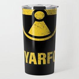 IYARFO CAUTION Travel Mug
