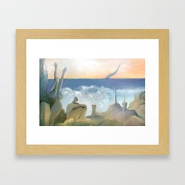 marina 4 Framed Art Print