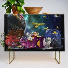 Dragonlings Space Party Credenza