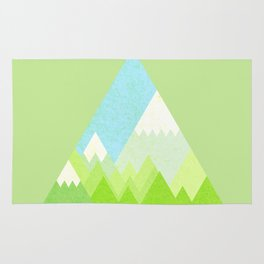 national park geometric pattern Rug