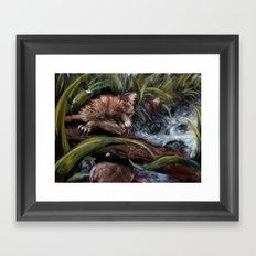 Stormpaw's Slip Framed Art Print