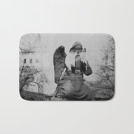 Angel. Novodevichy convent. Moscow. Bath Mat