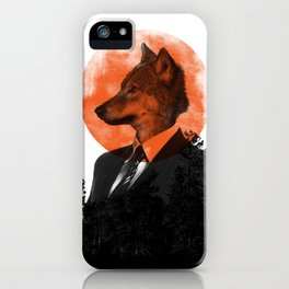 The real Wolf of Wall Street iPhone Case