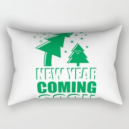 New year coming soon #society6 #decor #buyart #artprint Rectangular Pillow