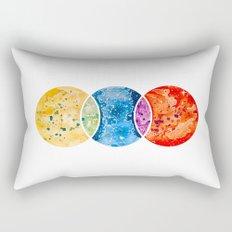 RYB color model Rectangular Pillow