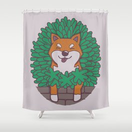 Just hangin' out here.. (Inu Series) Shower Curtain