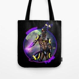 Dark Type Tote Bag