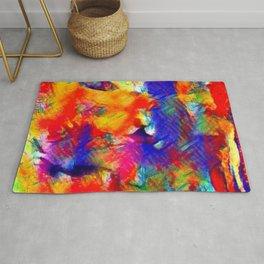 Abstract mixed Rug