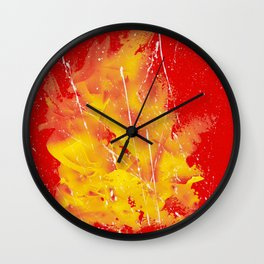 Explosion of colors_5 Wall Clock