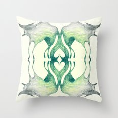 Big Bad Cyclops Wolf Throw Pillow