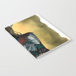Portrait of Shieldmaiden Notebook